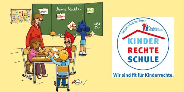 Das Projekt Kinderrechteschulen unterstützt Grundschulen.